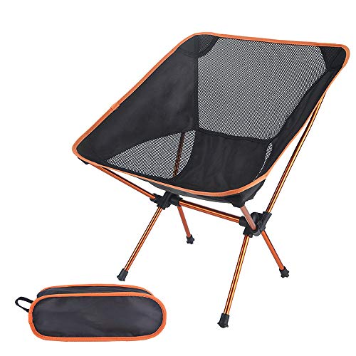 Furtxy Ultra-Light Folding Chairs for Fishing, BBQ, Camping, Beach & Picnic with Carry Bag (1.1)