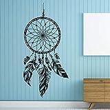 42x86cm Dreamcatcher Wall Decal Native America Feathers Feather Dreamcatcher Wall Stickers Bedroom Dorm Wall Art Mal