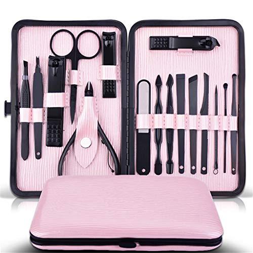 NNNQO - Juego de herramientas de corrector de uñas para manicura y pedicura