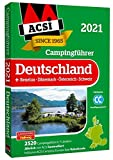 ACSI Campingführer Deutschland 2021: +Benelux-Dänemark-Österreich-Schweiz, 2590 Campingplätze (Hallwag Promobil)