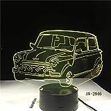 Kühles Auto Fahrzeug Form Licht Farbwechsel Nachtlicht Schreibtisch Tischdekoration Licht Raumschiff Neuheit Geschenk