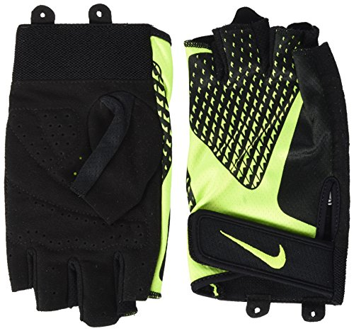 Nike Herren Core Lock Handschuhe, Black/Volt, S