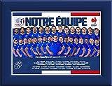 Cadre de l'equipe de France avec Le Pin Logo Coupe du Monde de Rugby 2019 Nation France