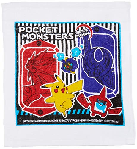 Skater handdoek set Pokemon zon en maan Made in Japan OA5