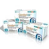 Clever Choice Comfort EZ Insulin Pen Needles 31 Gauge 6 Millimeter - 3 Pack (300 Needles)