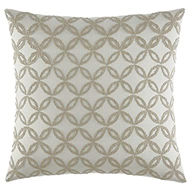 Stone Cottage Billie Throw Pillow, 20x20, Off White