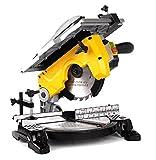 Troncatrice 'Tr-076' Per Legno. Struttura In Alluminio Pressofuso. Piano Lavoro 382X270 Mm Completo...