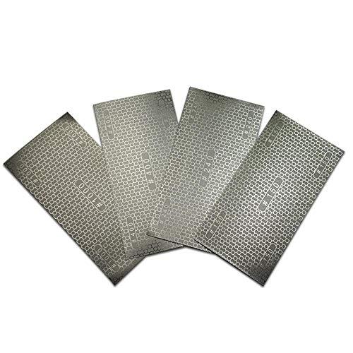 Diamantschleifpapier Beschichtetes Wabenersatz-Schleifpapier Schleifpapier Schleifpapier 150# 240# 400# 1000# Körnung HT414-417, Körnung 150