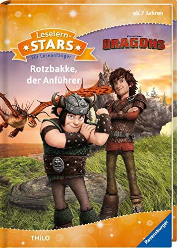 Leselernstars Dragons: Rotzbakke, der Anführer: Für Leseanfänger