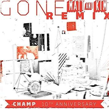 Gone (Matt and Kim Remix)