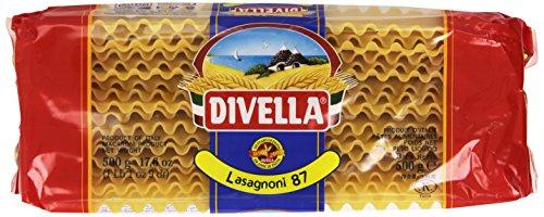 Divella - Lasagnoni, Pasta di semola di Grano Duro - 10 pezzi da 500 g [5 kg]