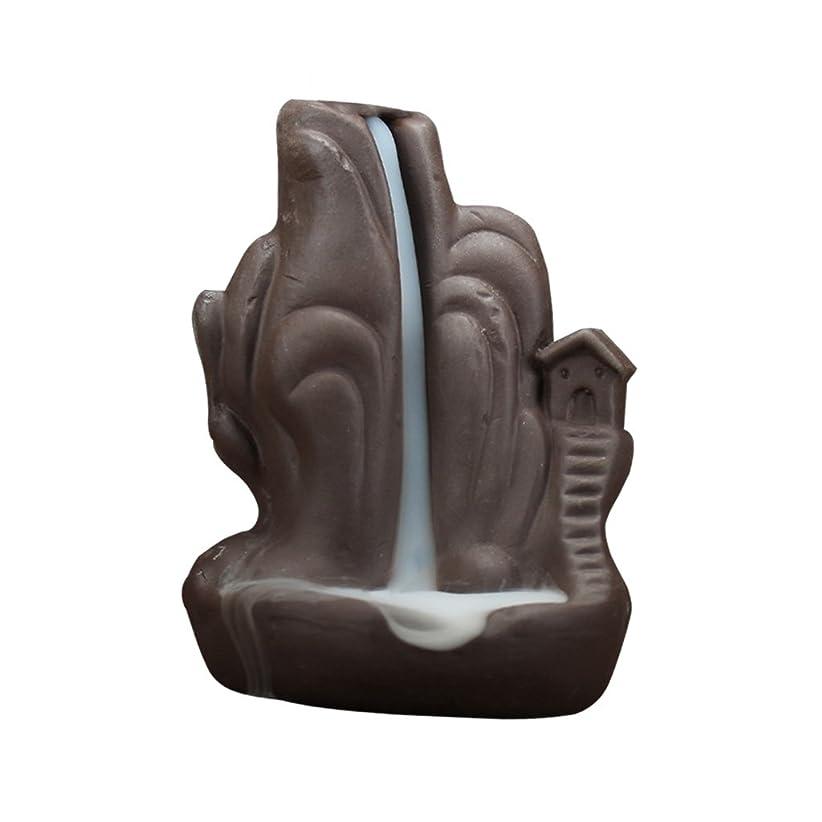 ブレンド拍手するスノーケルBaosity 全4種 高級セラミック 繊細 絶妙 デザイン 磁器 逆流香 香炉 古典的 装飾    - 2#