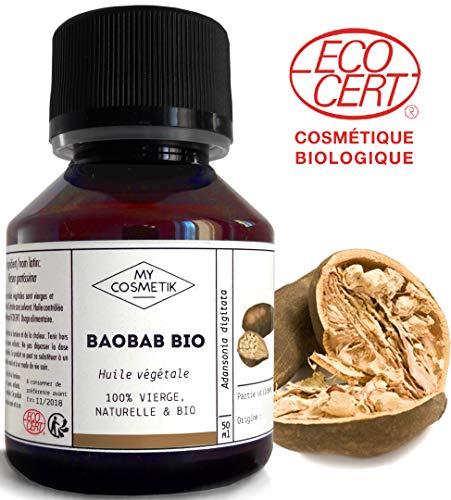 Organiskā un godīgā tirdzniecība Organiskā baobaba eļļa - MyCosmetik - 50 ml