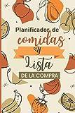 Planificador de comidas y lista de compras: planificar tus menús para 52 semanas