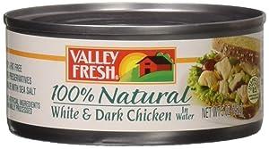 Valley Fresh Chunk Chicken, 5 oz , Pack of 24