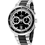 RADO D STAR 200 R15965152 GENTS BLACK CERAMIC STAINLESS STEEL CASE DATE WATCH