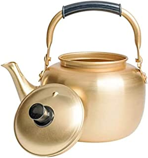 Aluminium Waterkoker Vintage Koffie Theepot Water Gietketel Traditionele Rijst Wijn Waterkoker Keuken Water Serveerpot-1L