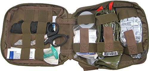 First Aid Kit By Renegade Survival for Camping and Hiking or Home and Workplace. It Is a Ifak Level #1 Drop Leg First Aid Kit for the Prepper Who Wants Tactical Gear for Trauma or to Use Case Case of a Natural Disaster or Outdoor Survival. Renegade Survival Wants You to Survive and Thrive.