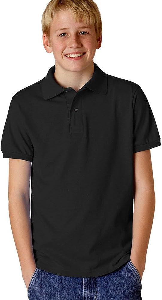SpotShield Jersey Polo (437Y) Black, S