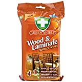 Greenshield Wood and Laminate Surface Wipes - Pack of 70(Extra Large Wipes)