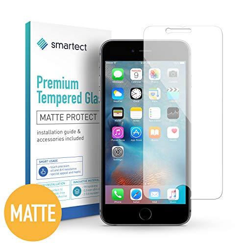 smartect Mattes Panzerglas kompatibel mit iPhone 6 / 6s [2X MATT] - Displayschutz mit 9H Härte - Blasenfreie Schutzfolie - Anti Fingerprint Panzerglasfolie