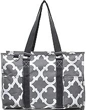 N Gil All Purpose Organizer Medium Utility Tote Bag (Geo Grey)