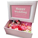 結婚祝い プレゼント ミッキー ミニー ハート 写真立て プリザーブドフラワー入りギフト フラワーギフト ディズニー キャラクター フォトフレーム