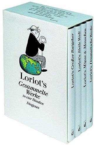 Loriots Gesammelte Werke in vier Bänden in Kassette (Kunst)