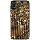 MINITURTLE Compatible with Samsung Galaxy A10e, Samsung Galaxy A20e Hard Shell Embossed Case Protective Dual Layer - Deer Hunting Camo