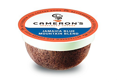 Cameron's Coffee Single Serve Pods, Jamaica Blue Mountain Blend, 12 Count (Pack of 6)