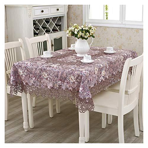 LINMAN Tavolo da tavola Ricamata in Pizzo Classico Europeo Tavolo da tavolino da tavolino da tavolino da tavolino da tavolino da Tavolo (Color : 1pcs Chair Cover Set)