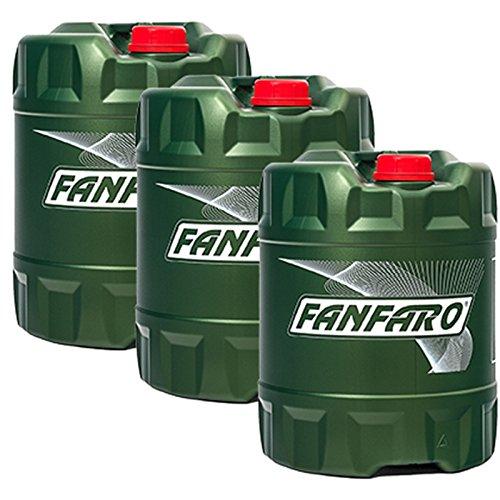 60 Liter (3x20L) FANFARO Hydrauliköl Hydro ISO 46 HLP 46 Industrie Öl VDMA 24318