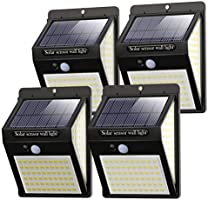 140LED Solar Security Lights Outdoor, Litogo Solar Motion Sensor Lights 270ºWide Angle Waterproof Solar Powered Durable...
