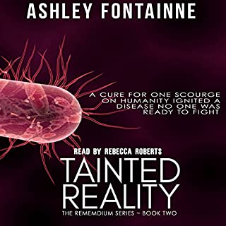 Tainted Reality audiobook cover art