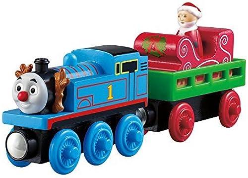 echa un vistazo a los más baratos Fisher Price Wooden Thomas & Friends  Santa's Santa's Santa's Little Engine Y5420 by Thomas & Friends  alta calidad
