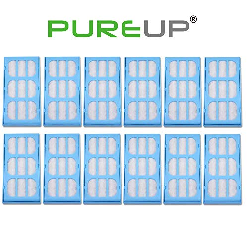 PUREUP 12 Pack Replacement Water Filter Compatible with Drinkwell Cat Mate Dog Mate Fountains Filter