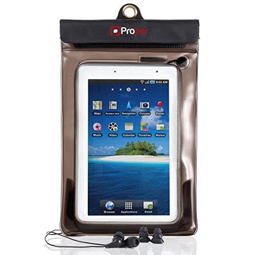 Proper Waterproof Case inc Waterproof Earphones for 7 inch Tablets 17,8 cm (7
