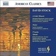 David Stock: A Little Miracle; Yizkor; Y'rusha; Tekiah Milken Archive of American Jewish Music