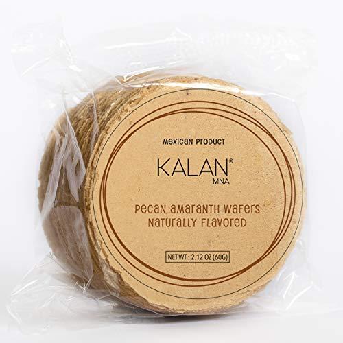 Obleas mexicanas Kalan, aperitivo de obleas de harina de amaranto