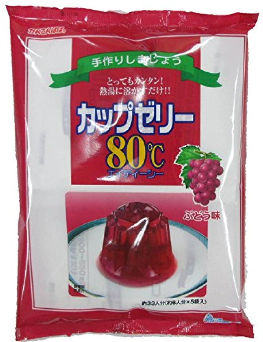みすぼらしい損失ミュートかんてんぱぱ カップゼリー ぶどう味100gX5袋