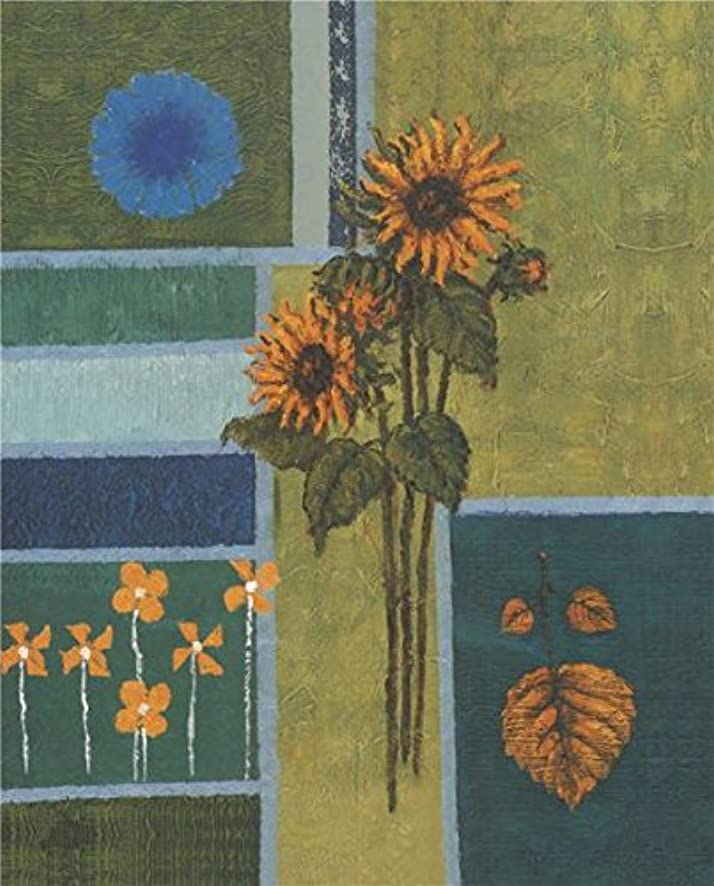 'Sunflowers' Oil Painting, 16x36 Inch / 41x92 Cm ,printed On Perfect Effect Canvas ,this Cheap But High Quality Art Decorative Art Decorative Canvas Prints Is Perfectly Suitalbe For Home Office Gallery Art And Home Artwork And Gifts