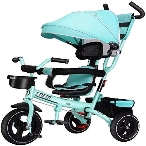 Pkfinrd kindertrikes driewieler driewieler met drukknop ouder duwen driewieler voor kinderen voor 1-5 jaar oud driewielers peuter fiets peuter trike kinderwagens voor kinderen baby producten