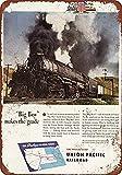 Tengss 1944 Union Pacific Big Boy Steam Lokomotive Vintage Look Reproduktion Metall Blechschild 20,3 x 30,5 cm