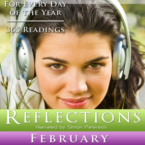 Reflections: February audiobook cover art