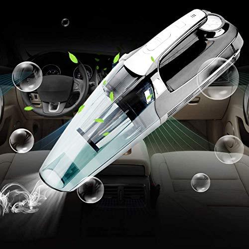 Rosvola Handstaubsauger Dustbusters, 12V tragbare 2 in 1 Wireless Auto Staubsauger Luftpumpe Wet Dry Dual-Use-Staubfänger für Auto, zu Hause