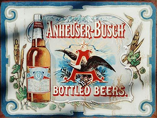 "Nxsbns Anheuser Busch Beer Retro Vintage Metal Tin Sign 12"" X 8"""