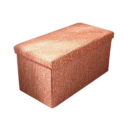 Zcxbhd voetensteun, opvouwbaar, voor woonkamer, bank, hoge capaciteit, multifunctionele kruk, belastbaar tot 200 kg Een