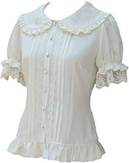 lolita blouse white