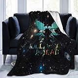 Hollywood Undead Cool Logo Blanket Throw Size Ultra Soft Flannel Fleece Blankets Warm Cozy Comforter Blankets Fall Winter Bedroom Blanket 60'x50'