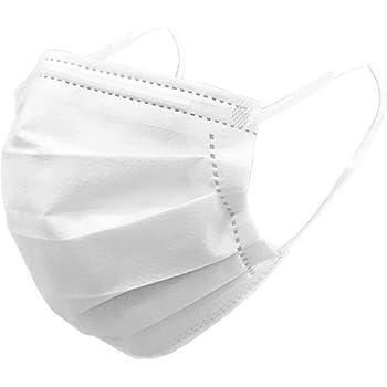 不織布マスク 50枚入り1箱 業務用マスク 使い捨てマスク レギュラーサイズ 大人用 フェイスマスク